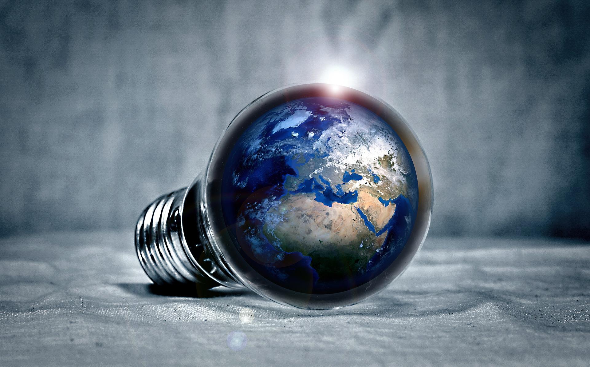 led-earth